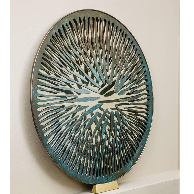 The Pupil Sculptural Mirror N°7 In New Condition For Sale In Milan, IT
