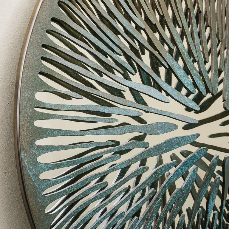 Italian The Pupil Sculptural Mirror N°7 For Sale