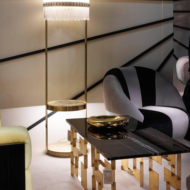 Elegant Iron 'Raymond' Coffee Table 3