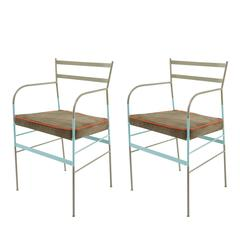 Set of two Paul Asti Chairs