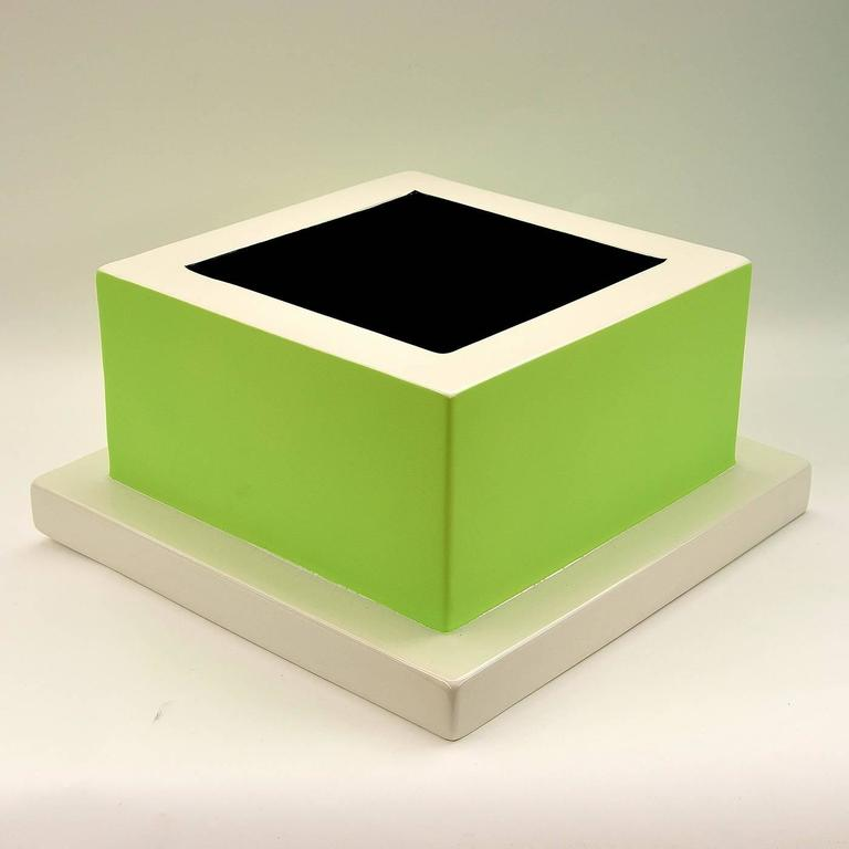 Italian Fruit Tray Green by Ettore Sottsass For Sale