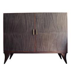 Java Oak Cabinet