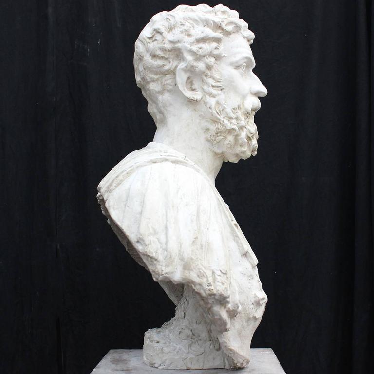 Marco Aurelio Plaster Sculpture In New Condition For Sale In Milan, IT