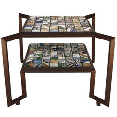 Spider Mosaic Tile Table