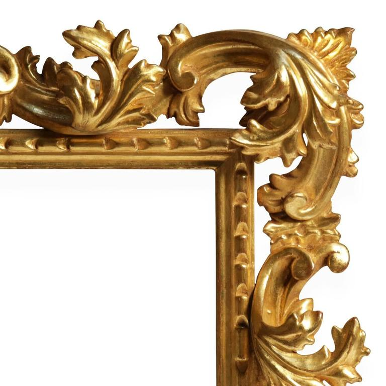 Sophisticated Hand-Carved Frame Mirror 3