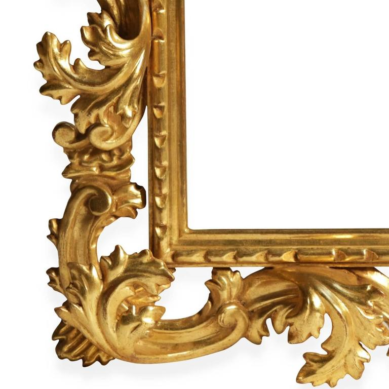 Sophisticated Hand-Carved Frame Mirror 2