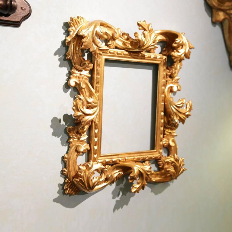 Sophisticated Hand-Carved Frame Mirror 4