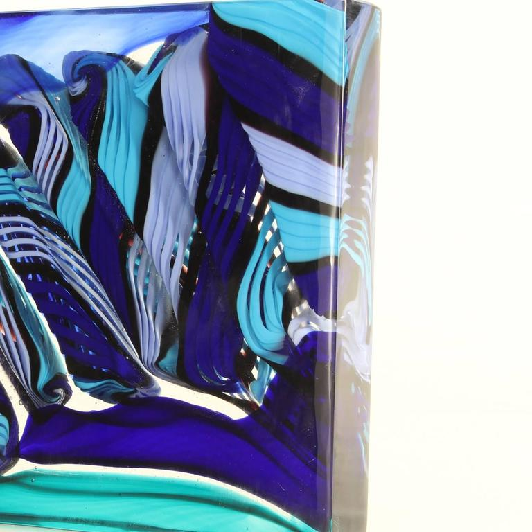 Stunning Monolith with Shades of Blue and Purple 3
