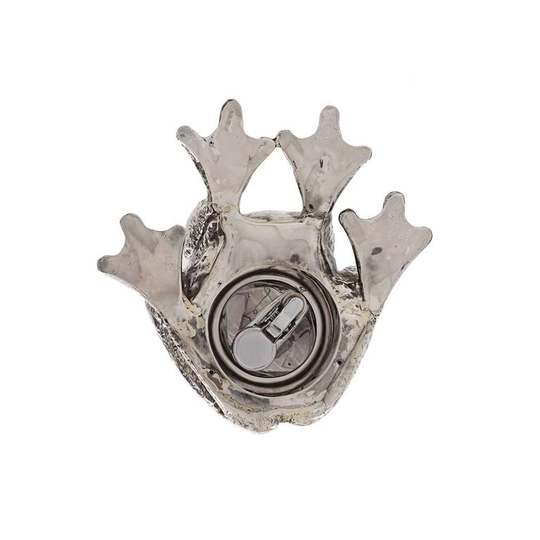 The Frog Sterling Silver Lighter In New Condition For Sale In Milan, IT