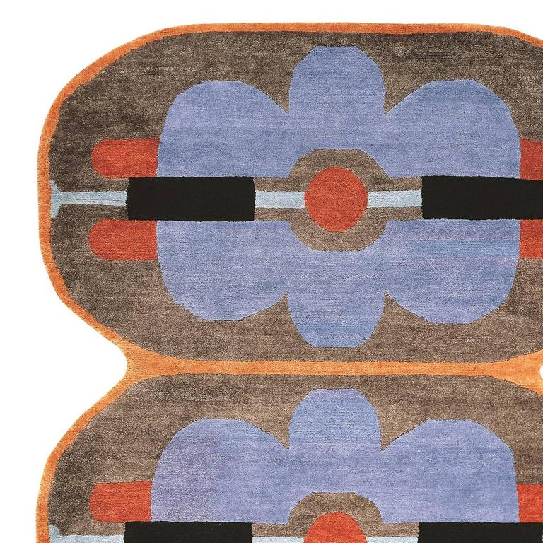 Striking Gjs1 Carpet By George J Sowden For Sale At 1stdibs