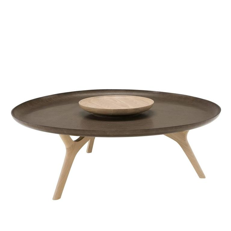 Outstanding Brown Wood Coffee Table At 1stdibs
