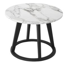 Stunning Tall Marble 'Punto' Coffee Table