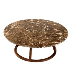 Stunning Short Marble 'Punto' Coffee Table