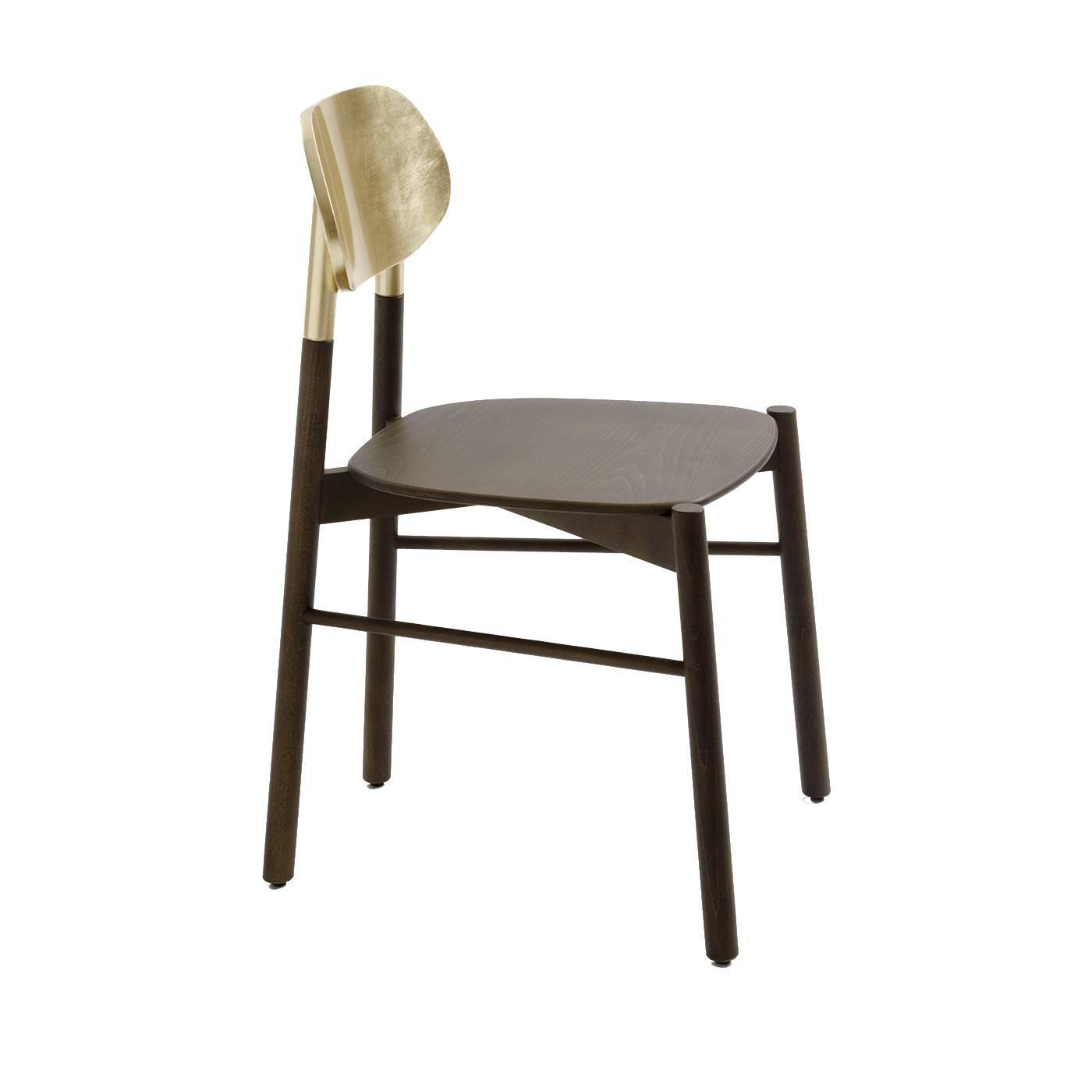 Striking Gold 'Bokken' Chair For Sale at 1stdibs -