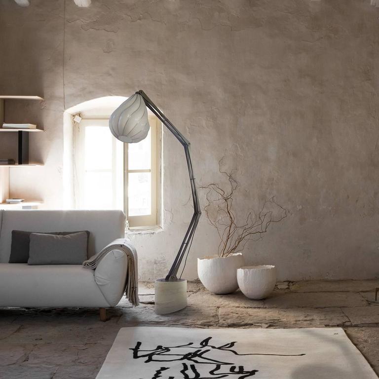 Italian Pegaso Floor Lamp For Sale