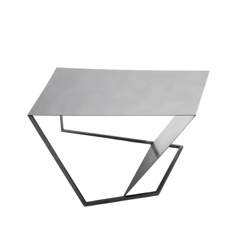 Contemporary XY&Z Coffee Table with a Minimalistic Design