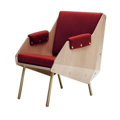 Unique Armchair by Carlo de Carli