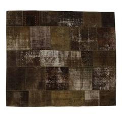 Sophisticated 'Patchwork' Decolorized 2 Carpet by Golran