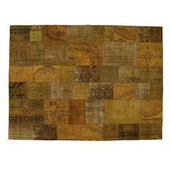 Magnificent 'Patchwork' Decolorized Five Carpet