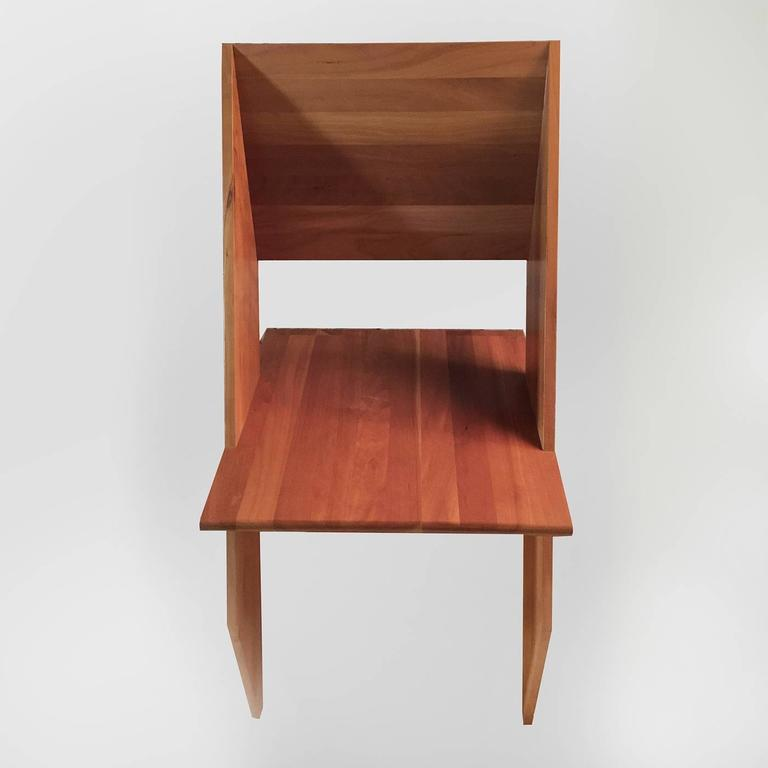 Modern 'Giotto' Chair with a Minimalistic Design In Excellent Condition For Sale In Milan, IT