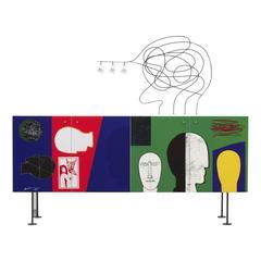 Bongiorno Due Sideboard by Mimmo Paladino