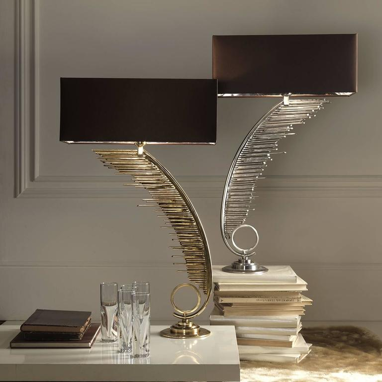 Unique table lamp with a contemporary design for sale at for Cool table lamps modern