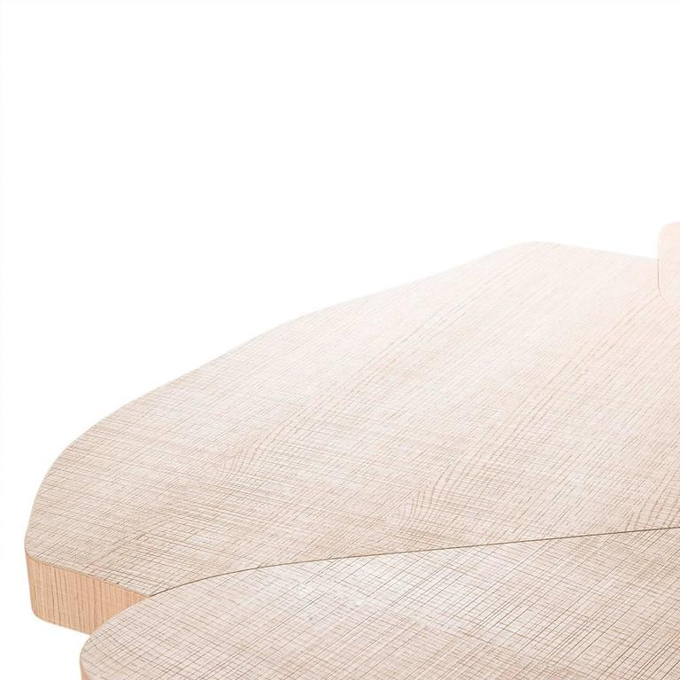 Contemporary Andy Natural Dining Table For Sale