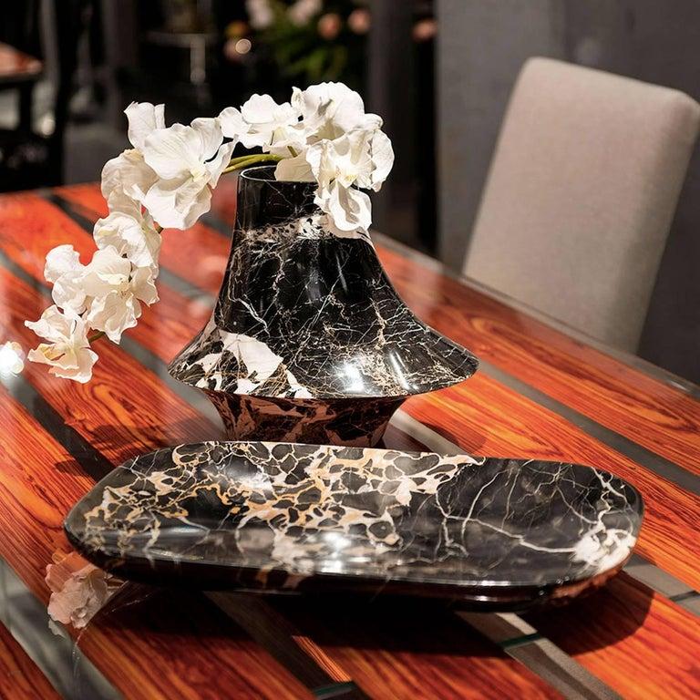Eccentrico Small Marble Decorative Vase For Sale 1
