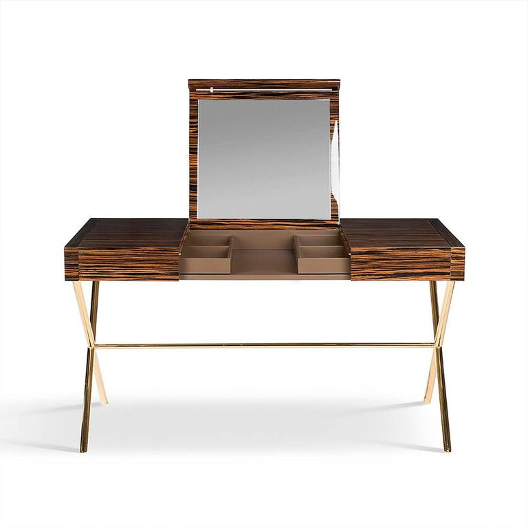 Italian Secret 3 Vanity Desk For Sale
