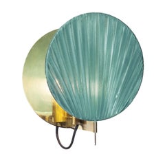 Elegant Turquoise Wall Light