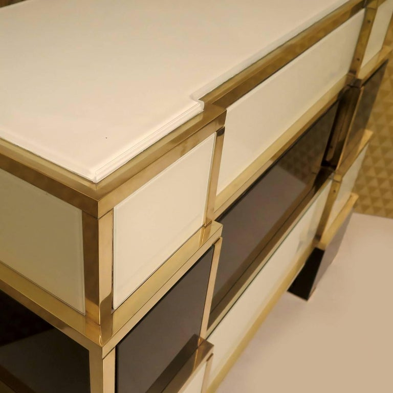 Italian Pyramid Chest of Drawers For Sale