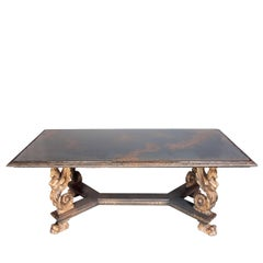 Smoked Sphinx Table