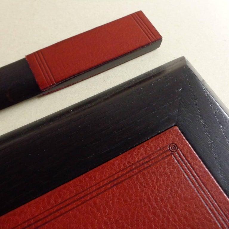 Leather Office Desk Top Set For Sale At 1stdibs