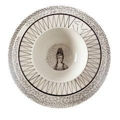 Set of Four Novissa Plates for Four