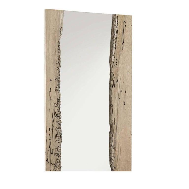 Italian Channel Wall Mirror For Sale