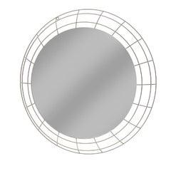 Astro White Wall Mirror