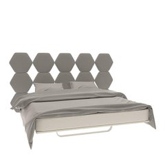 Cristallo Bed with Fabric Headboard