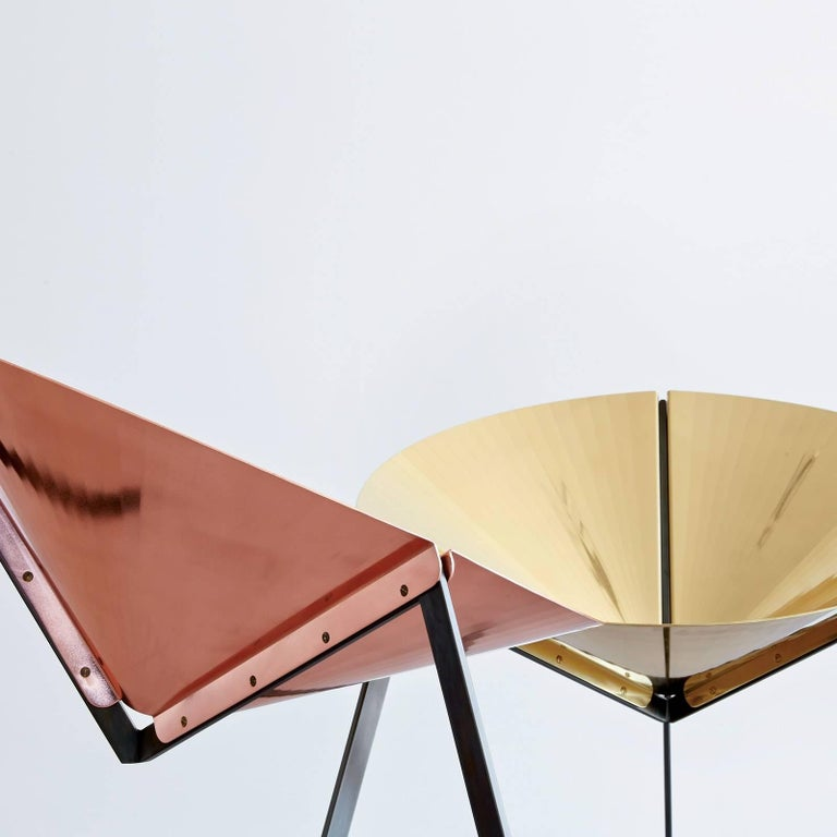 Pensando ad Acapulco Copper Chair In New Condition For Sale In Milan, IT