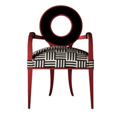 New Moon Red Armchair