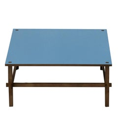 Gio Blue Coffee Table by Gianfranco Frattini