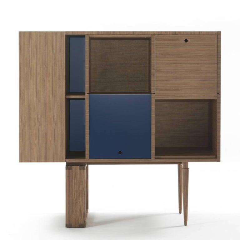Italian Wood Cabinet For Sale