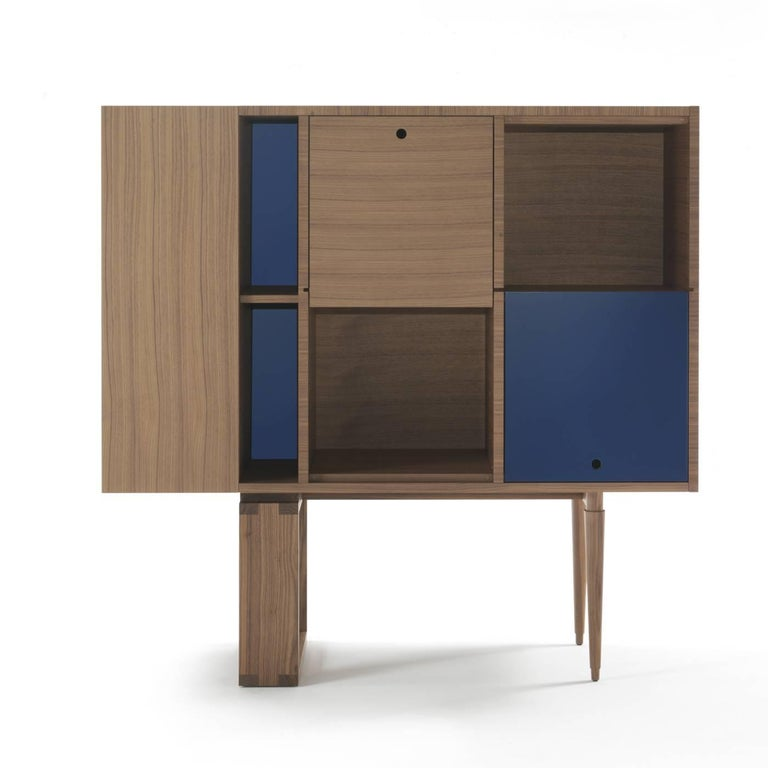 Contemporary Wood Cabinet For Sale