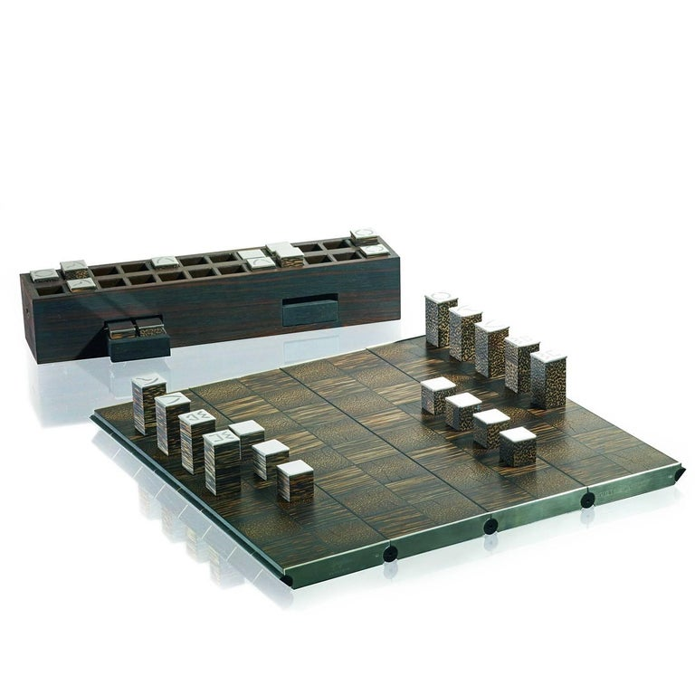 Tabula Aurea Chessboard In New Condition For Sale In Milan, IT