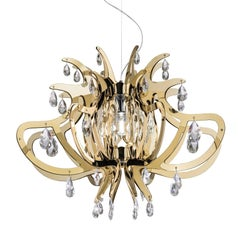 Lillibet Gold Ceiling Lamp by Nigel Coates