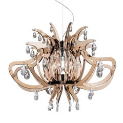 Lillibet Copper Ceiling Lamp by Nigel Coates