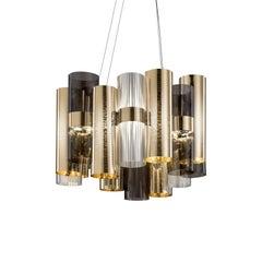 La Lollo M Gold Ceiling Lamp by Lorenza Bozzoli