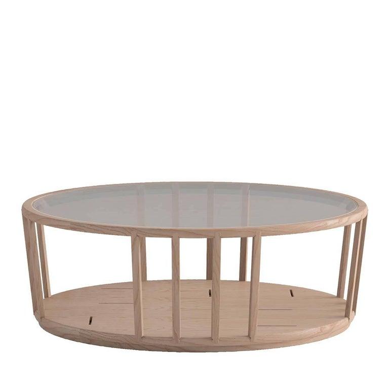 Dedalo Oval Coffee Table
