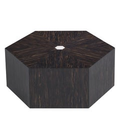 Hexagonal Low Side Table