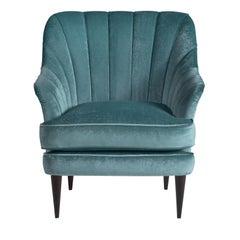 Michelle Azure Armchair
