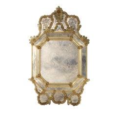 Venetian Octagonal Glass Mirror